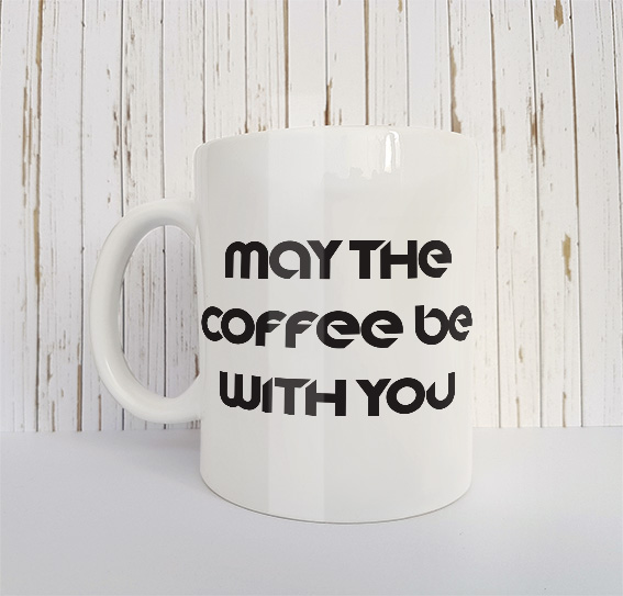 Mok May the coffee be with you