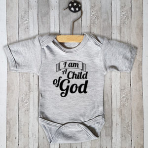 Rompertje met tekst I am a child of God