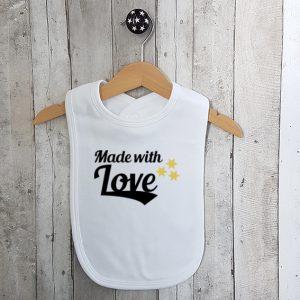 Slabbetje Made with love
