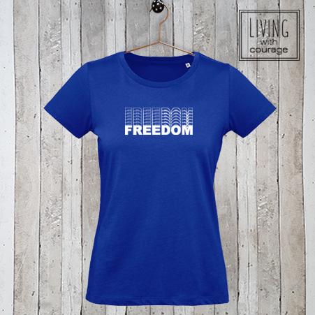 Dames t-shirt Freedom