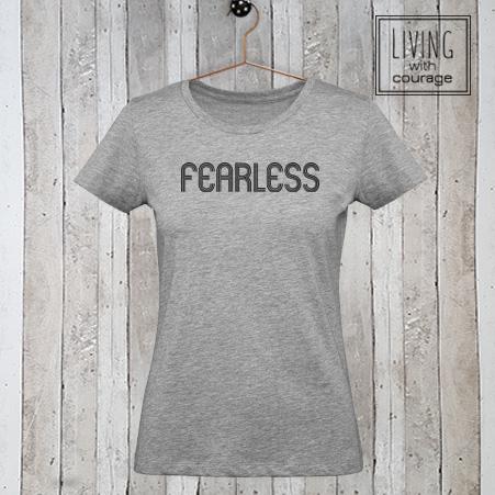 Dames t-shirt Fearless