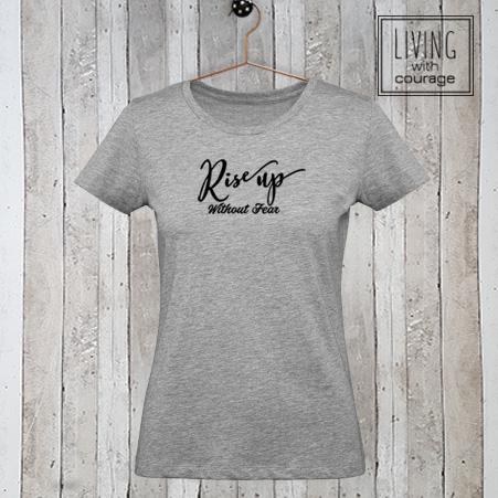 Dames t-shirt Rise Up