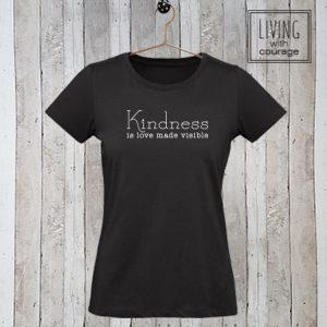 Dames t-shirt Kindness