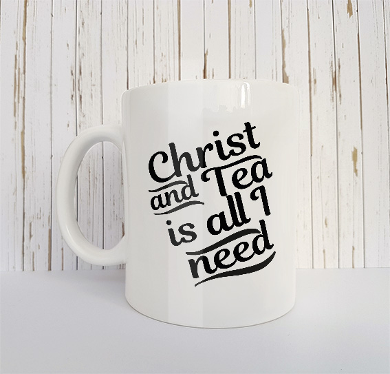 Mok Christ and tea is all I need