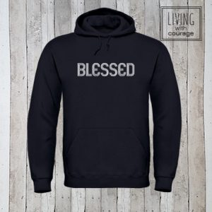 Christelijke Hoodie Blessed