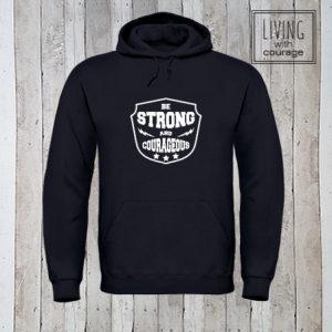 Christelijke Hoodie Be Strong