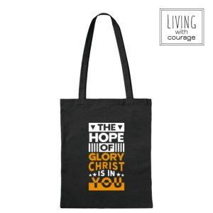 Christelijke Katoenen Tas Hope of glory