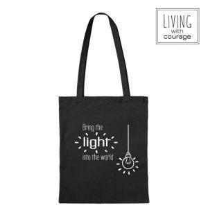 Christelijke Katoenen Tas Bring light