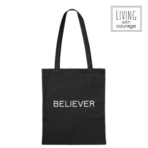 Christelijke Katoenen Tas Believer