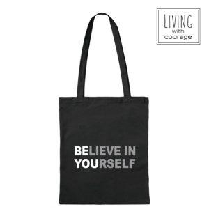 Katoenen Tas Believe in yourself