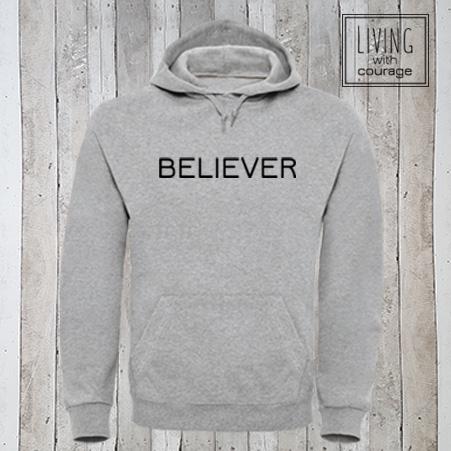 Christelijke Hoodie Believer
