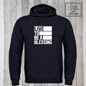 Christelijke Hoodie Be a blessing
