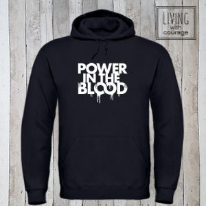 Christelijke Hoodie Power in the blood