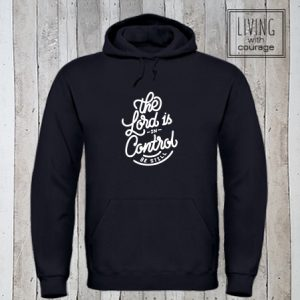 Christelijke Hoodie The Lord is in control