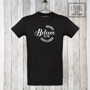 Heren Organic T-Shirt Always believe
