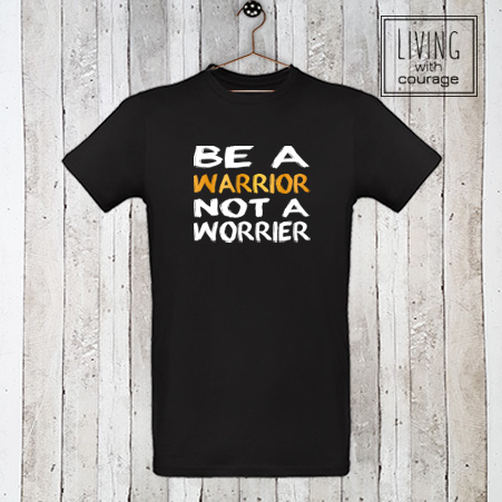 Heren Organic T-Shirt Be a warrior