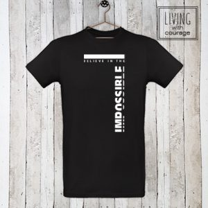 Christelijk T-Shirt Believe in the impossible