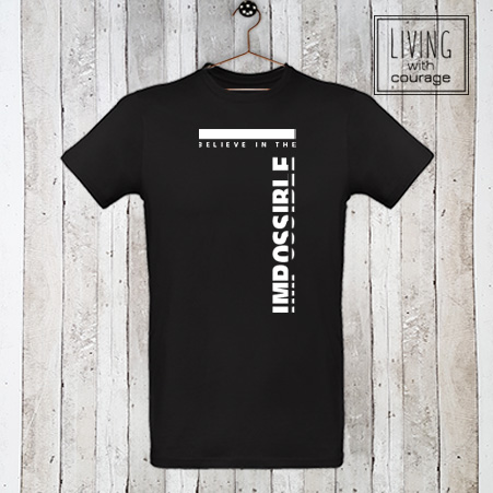 Christelijk T-Shirt Believe in the impossible