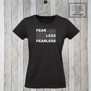Dames Organic T-Shirt FearLess