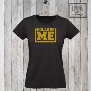 Christelijk T-Shirt Follow me
