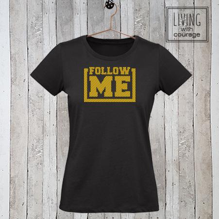 Christelijk T-Shirt Follow me
