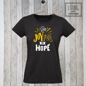 Christelijk T-Shirt Be joyful