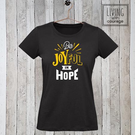 Christelijk T-Shirt Be joyful