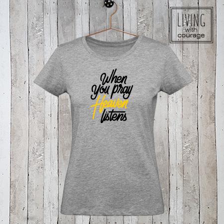 Christelijk T-Shirt Heaven listens