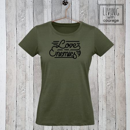 Christelijk T-Shirt Love your enemies