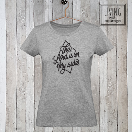 Christelijk T-Shirt The Lord is on my side