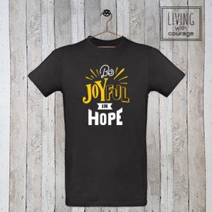 Christelijk T-Shirt Be joyful in hope