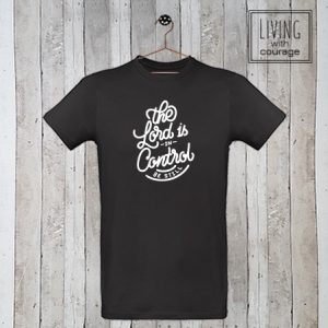 Christelijk T-Shirt The Lord is in control