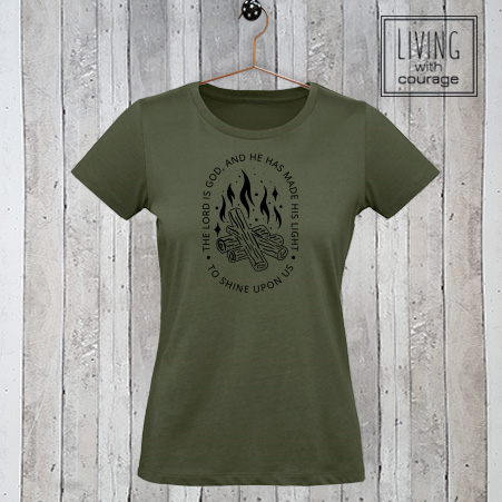 Christelijk T-Shirt The Lord is God