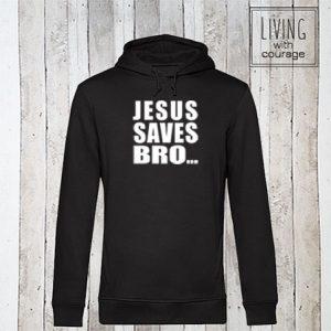 Christelijke Hoodie Jesus saves bro