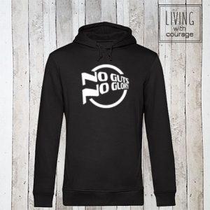 Organic Hoodie No guts no glory