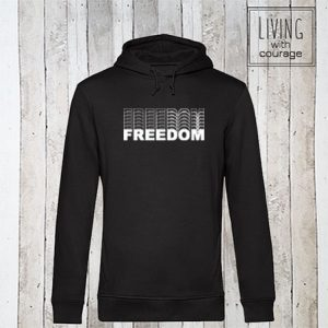 Organic Hoodie Freedom