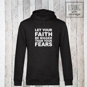 Organic Hoodie Faith