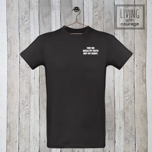 Christelijk T-Shirt For we walk by faith