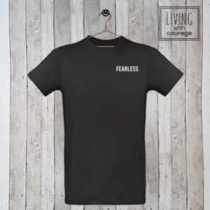 Heren Organic T-Shirt Fearless