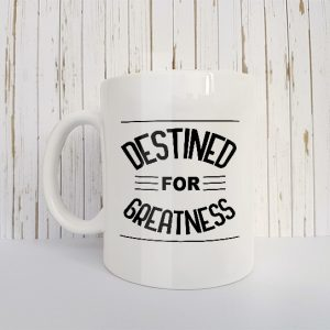 Christelijke Mok Destined for greatness