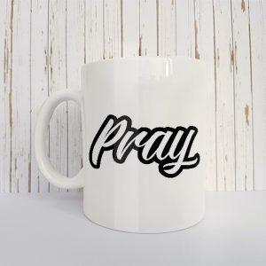 Christelijk Mok Pray